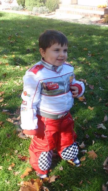 Nicholas on Halloween